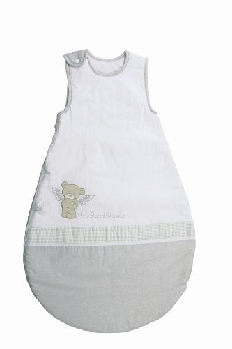 roba roba Schlafsack, 70cm, Babyschlafsack ganzjahres/ganzjährig, aus atmungsaktiver Baumwolle, unisex, Kollektion 'Heartbreaker'