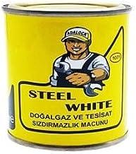 Steel White Doğalgaz ve Su Tesisat Macunu 400gr