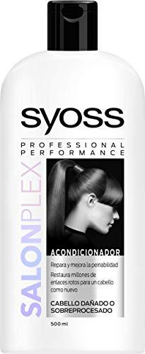 SYOSS - Acondicionador Salon Plex - Tratamiento de Reparación Intenso - 3uds de 500ml
