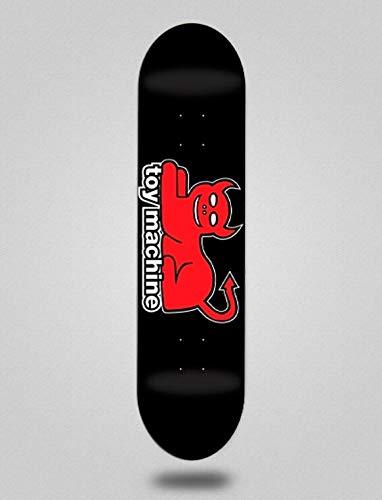 lordofbrands Toy Machine TM 8.0 Devil Cat Large Skateboard Skateboard Deck