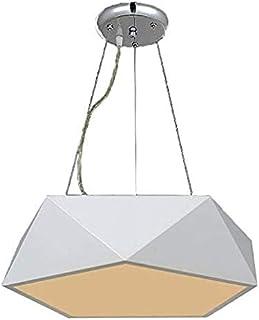 Natsen® Plafonnier LED 8350 - Design moderne - Blanc chaud - 24 W