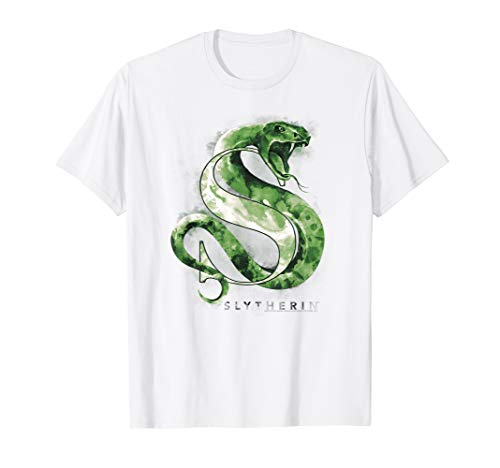 Harry Potter Slytherin Watercolor T-Shirt