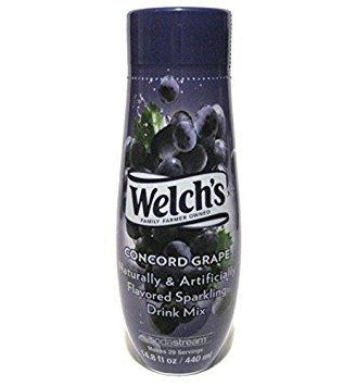 Sodamix Welch'S Grape, 14.8 fl oz