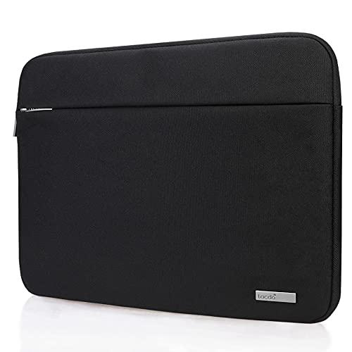 """Lacdo 15.6 polegada Capa Bolsa para 15.6"""" Acer Aspire/Chromebook/Nitro/Predator, Asus TUF/Zenbook/Vivobook 15, MSI GF65, Lenovo Ideapad, Dell Inspiron 15 Capa Sleeve Case de protetor, Preto"""