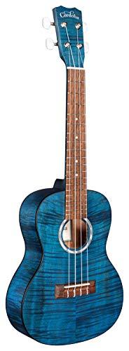 Ordoba Guitars, ukelele de 4 cuerdas, derecho, Azul zafiro.