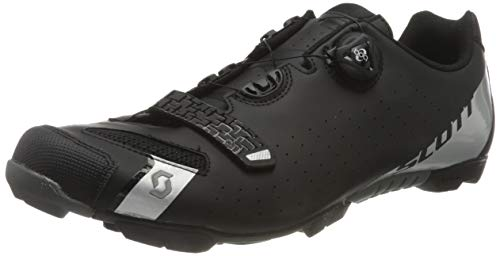 Scott Herren MTB-Radschuh Comp Boa Mountainbike Schuhe, Schwarz (Schwarz/Silber 5547), 41 EU