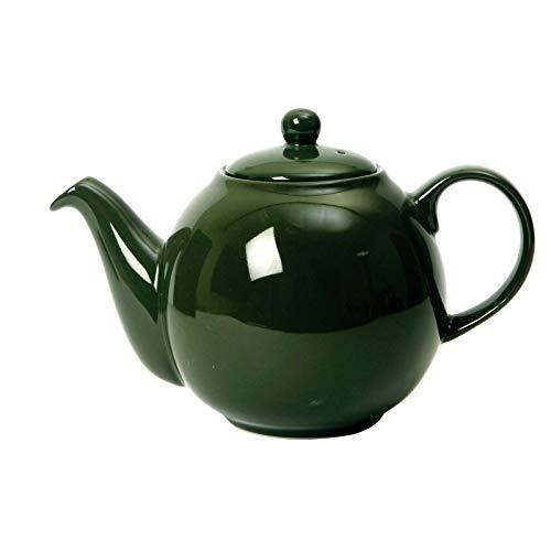 Dexam London Pottery Globe - Teiera da 2 Tazze, Colore: Verde
