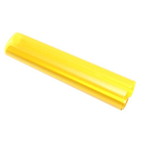 Wakauto 30x150cm pellicola auto cambia colore luce autoadesivi auto d'epoca pellicola auto per fendinebbia faro posteriore (giallo)