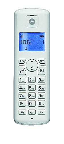 Motorola T201I Digital Cordless Telephone -White