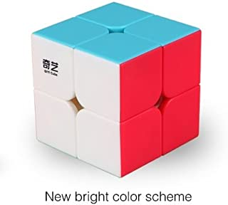 Cubelelo QiYi QiDi S 2x2 Stickerless Puzzle Speed Cube Magic Toy