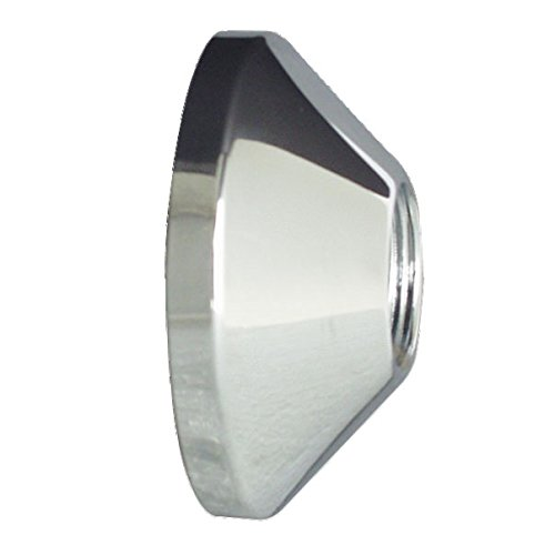 Cornat Gewinderosette für S-Anschluss, chrom, 2 Stück, TEC321025