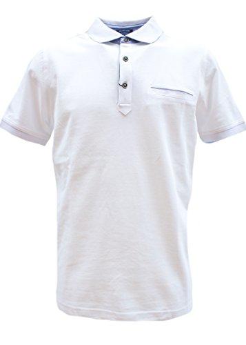 Pierre Cardin Herren 71210 Poloshirt, Weiß (White 1000), Large