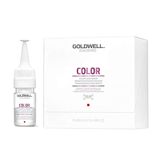 Goldwell Dualsenses Color Lock Farbversiegelndes Serum, 1er Pack (12 x 18 ml)