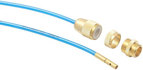 """AGT Rohrreinigung: Hochdruck-Abflussreiniger für M22, M24 & 1/2\"""", mit Dichtungen, 1 m (Rohrreinigung mit Wasserdruck)"""