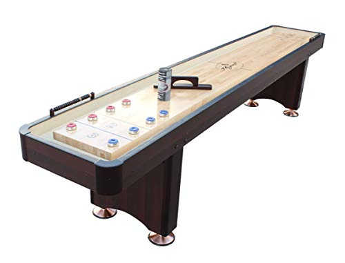 Sale!! Playcraft Woodbridge 12' Espresso Shuffleboard Table
