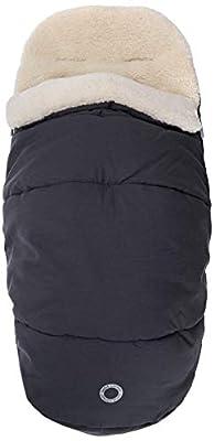Bébé Confort - Saco de dormir para bebé de invierno, acolchado y revestido internamente de forro polar, saco térmico para cochecito, útil también como reductor de asiento, Essential Graphite