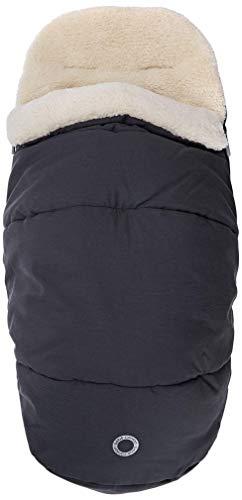 Bébé Confort - Saco de dormir para bebé de invierno, acolchado y revestido con forro polar, saco térmico para cochecito, también útil como reductor del asiento, Essential Graphite