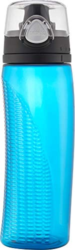 THERMOS Termo 530 ml Eastman Tritan Copolyester hidratación Botella con Paja, Blue Parent