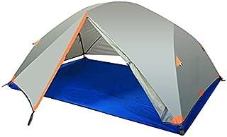 Utomhus två män campingtält 8,5 mm aluminiumstång tält vattentäta vindtäta tält insektsförebyggande andas