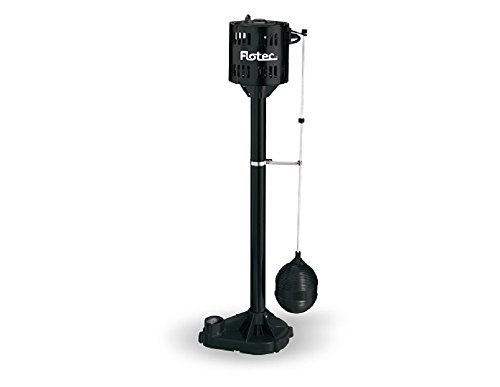 Flotec-1/3 HP Pedestal Sump Pump