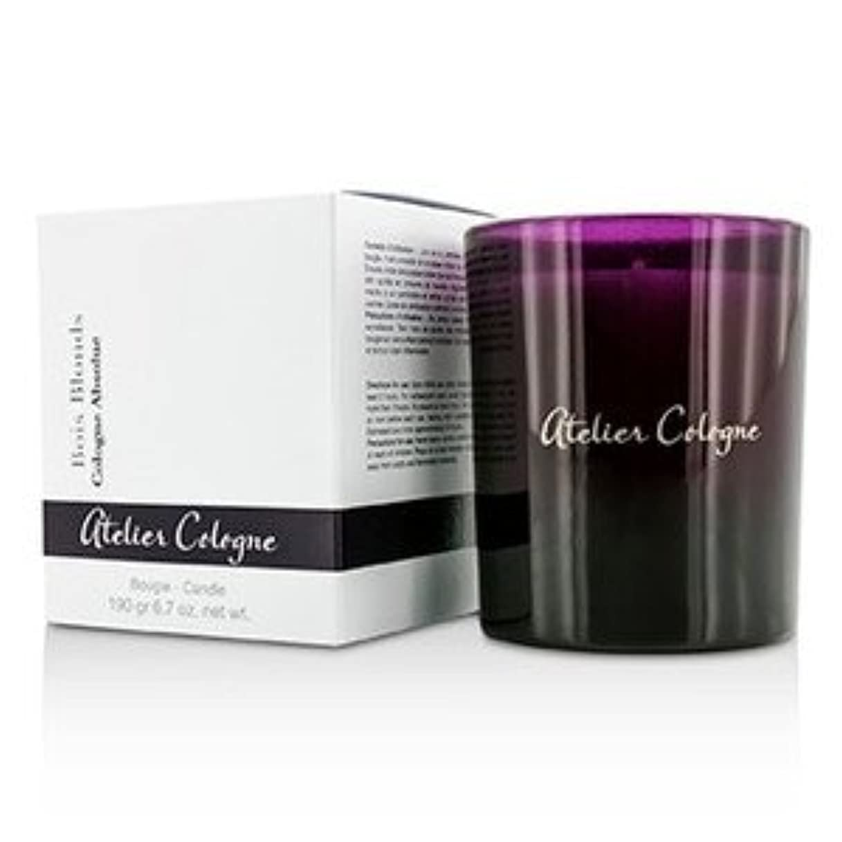 翻訳ゴネリル名門Atelier Cologne (アトリエ コロン) ブージー キャンドル - Bois Blonds 190g/6.7oz [並行輸入品]