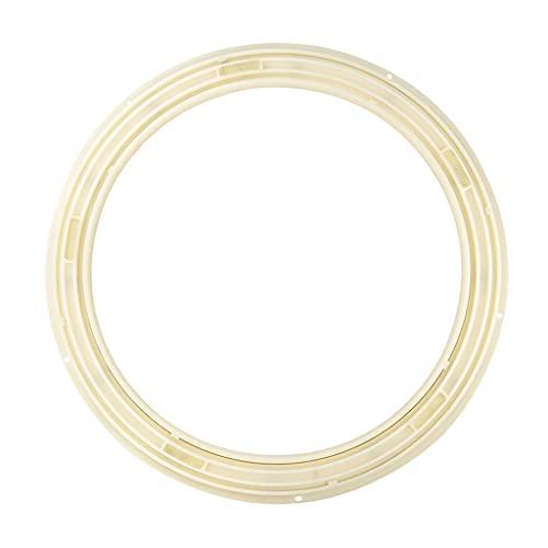 SHIJIANX Placa giratoria,Material plástico ABS de Alta Resistencia Rodamiento Giratorio Mesa Redonda de Comedor Mesa giratoria Lisa Placa giratoria para caleidoscopios (10 Pulgadas)