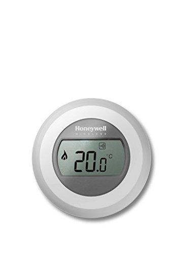 Honeywell Evohome T87RF2033 EIN-Zonen-Thermostat, Weiß