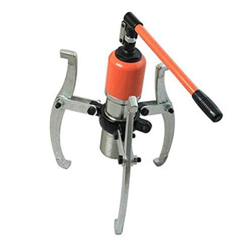 Maniny 20T Extractor Hidráulico Integral Kit de Puller Hydraulic con 3 Garras Reemblazable Ideal para Uso Vertical/Horizontal