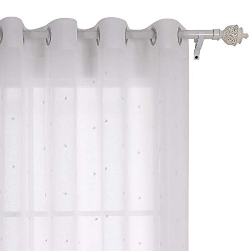 cortinas cortas para ventanas niñas