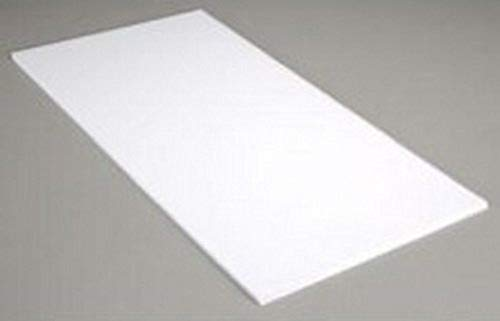 Evergreen- Tablero de poliestireno, 280 x 350 x 0,50 mm, 12 Unidades, Color Blanco, 280 x 350 x 0.50 mm (9220)