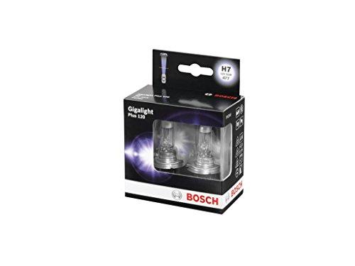 Bosch GIGALIGHT +120 H7 Halogen Glühlampen 2er Set 1987301107