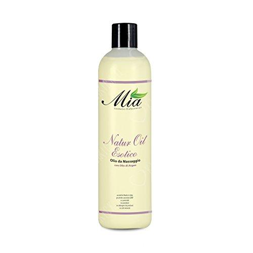 Huile de massage à l'Argan, émolliente, nourrissante et antioxydante. Pour les peaux délicates et sensibles - Bouteille de 50ml