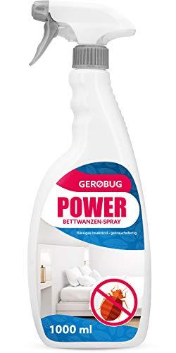 Anti Bettwanzen-Spray zur Bettwanzen-Bekämpfung - Geruchloses Mittel gegen Bettwanzen (1000 ml)
