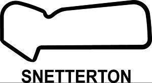 Online Design Neuf Snetterton Autocollant Course Circuit Piste Voiture GP F1 - Bleu