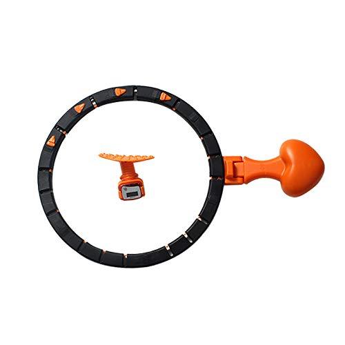 Per uomini e donne, si tratta di un hula hoop intelligente, una vita sottile e addome, attrezzatura fitness per la perdita di peso, e una bella vita hula Hoop che non cadrà.