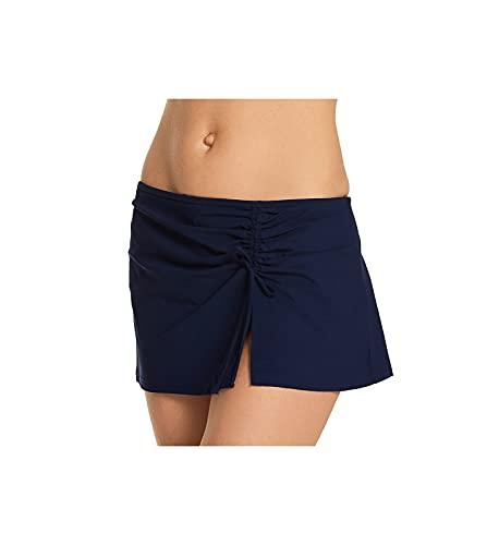 Profile by Gottex Women's Standard Classic Side Tie Skirted Swimsuit Bottom, Tutti Frutti Navy, 6