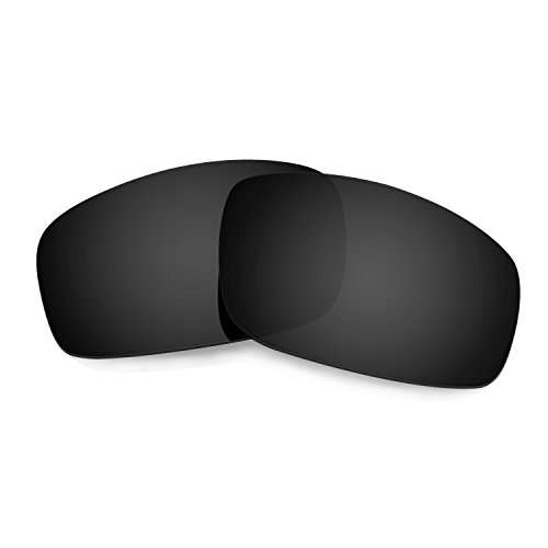 HKUCO Mens Replacement Lenses For Oakley Monster Pup Sunglasses Black Polarized