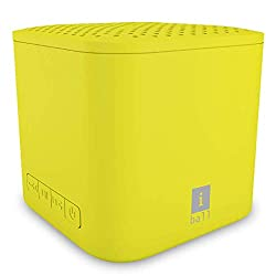 iBall Musi Cube X1 Wireless Ultra-Portable Bluetooth Speakers with FM | Micro SD Card Slot & Built-in Mic (Yellow),iBall,Portable speaker Musi Cube X1 (Yellow)