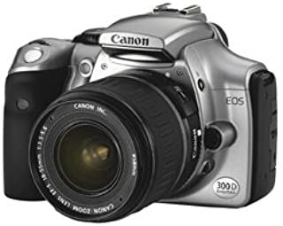 Canon EOS 300D Digital SLR Camera with EF18-55mm Lens