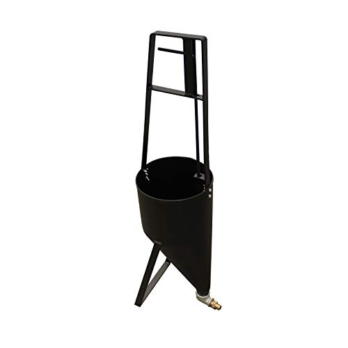 2 Gallon Asphalt Crack Filler Pour Pot for Crack Filling Sealant Dispenser