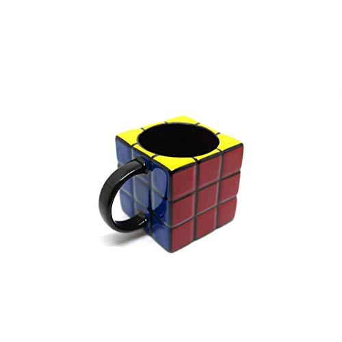 250 ml Rubik's Cube Trend Taza de cerámica Taza de té de oficina Jugo de leche Jugo Taza de cubo de café con caja blanca
