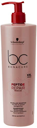 Schwarzkopf Professional BC PEPTIDE REPAIR RESCUE Micellar Shampoo 500ml