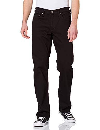 MUSTANG Herren Big Sur Jeans, Schwarz (Midnight Black 490), 40W / 36L