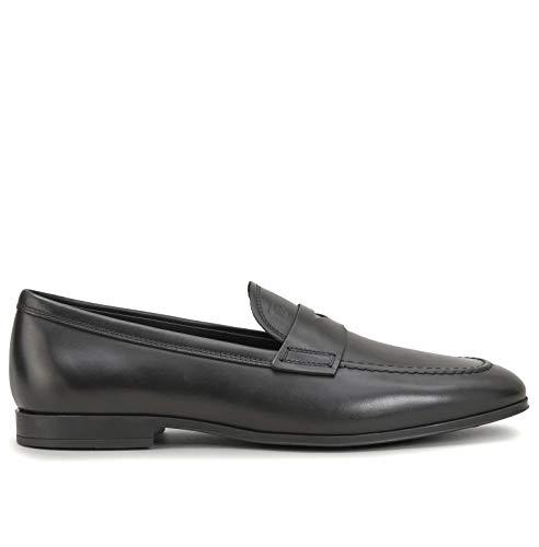 Tod's heren mocassin van elegant leer, zwart, XXM85B0Y290 D90B999, maat