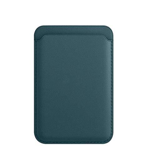Etui pour téléphone portable iPhone12 Etui pour carte en cuir spécial Apple MagSafe, bobine magnétique puissante pour absorber le téléphone portable avec PU
