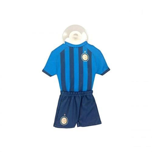 Inter Milano, mini divisa dell'Inter per auto, con ventosa, stagione 2017/18