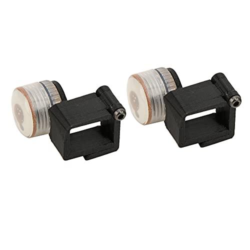 Bediffer Lampadine a LED, RC Searchlight Drone Indicatore Luminoso LED Design a Fibbia di Alimentazione a Lunga Durata per Mini Drone(Nero)