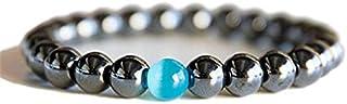 كات عين جولة أساور الحجر الطبيعي للنساء الرجال مجوهرات دبي أوبال سوار فاخر متعدد الألوان سحر حبة سوار