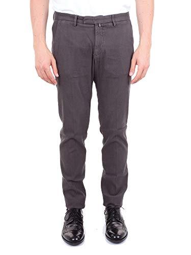 BRIGLIA 1949 Luxury Fashion Mens BG034814MUDCOLOR Grey Pants | Season Outlet