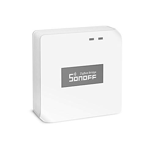 SONOFF ZBBridge Smart Zigbee Brücke, WI-FI & Zigbee Dual-Protokoll-Unterstützung, APP-Steuerung und Multi-Geräte-Management